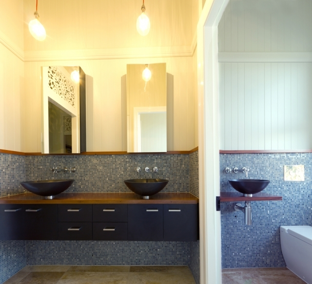 Small Queenslander Bathroom small projects - gadke architects : brisbane residential